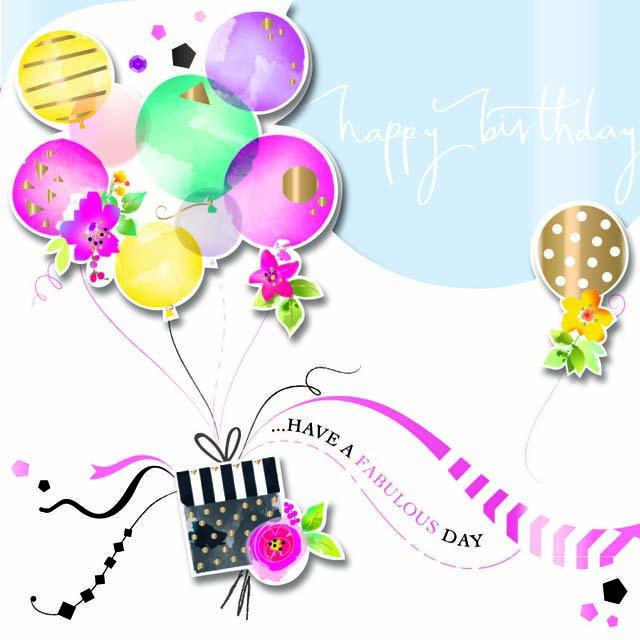 Happy Birthday Card NOE30001