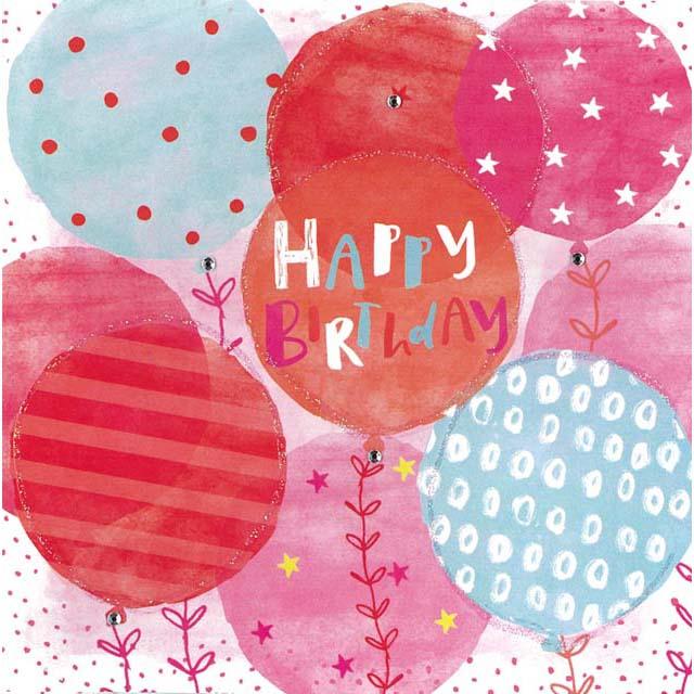 Happy Birthday Card FZ004